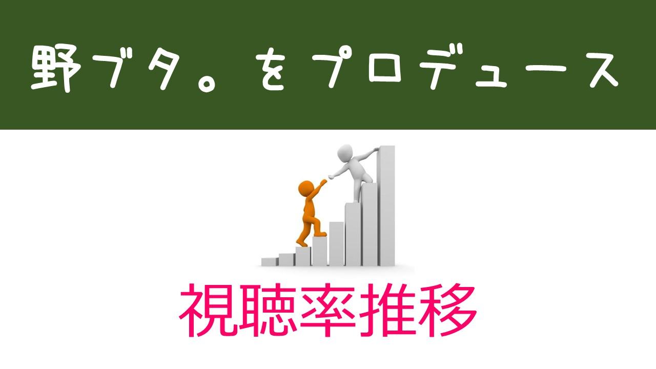 人 健 野 を ブタ プロデュース 中島