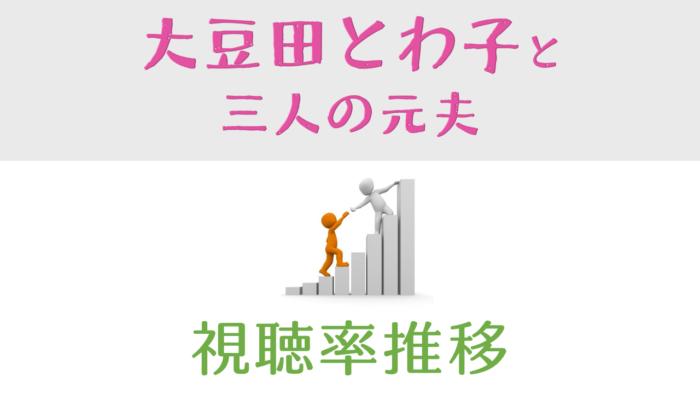 大豆田とわ子と三人の元夫 視聴率推移